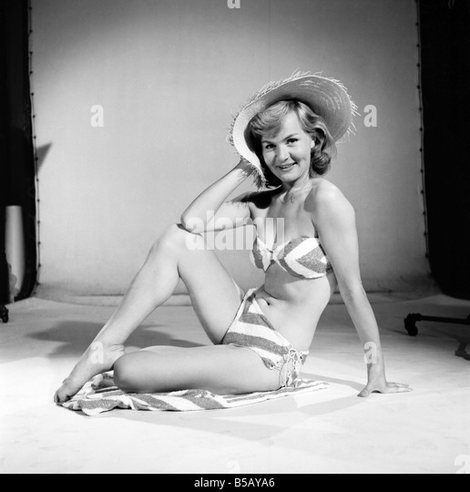 Bikini 1950s Stock Photos & Bikini 1950s Stock Images