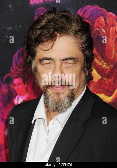 BENICIO DEL TORO  Puerto Rican film actor in December 2014. Photo Jeffrey Mayer - Stock-Bilder