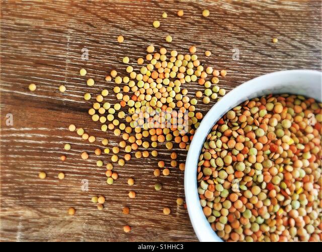 lentil - Stock Image