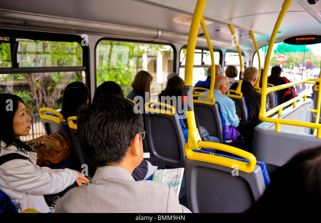 Inside Of Bus Uk Stock Photos & Inside Of Bus Uk Stock ...