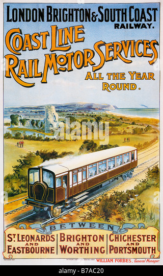 London to brighton railway stock photos london to for Coast to coast motors hayward