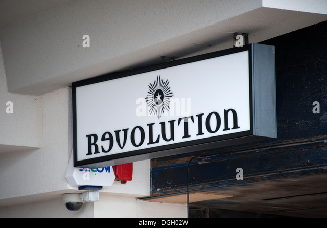 Russian revolution Sign Text Reversed E - Stock Image