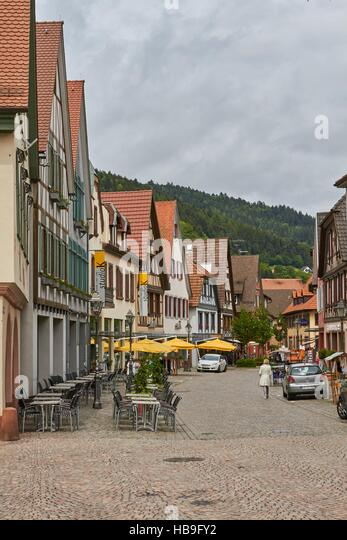 Black Forest: Haslach in Black Forest - Stock-Bilder