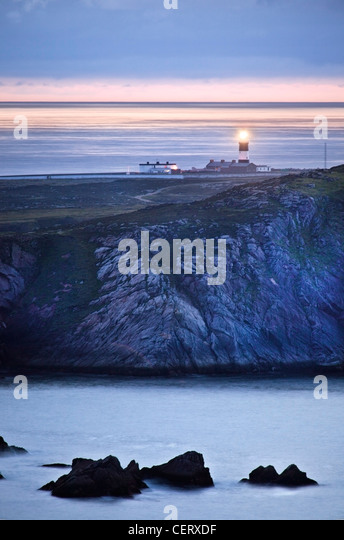 Tory island lighthouse, Donegal, Ireland. - Stock-Bilder