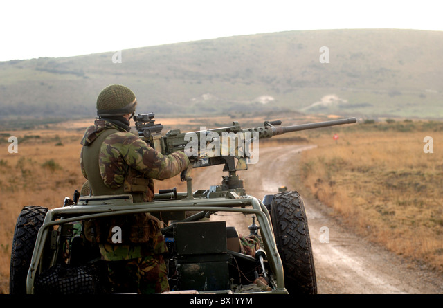 the land machine gun