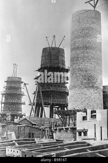 Blast Furnace Construction : Blast furnaces black and white stock photos images alamy
