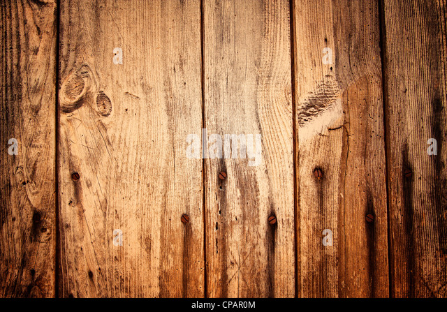Old Wooden Planks and Nails - Stock-Bilder