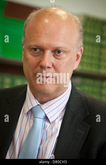 Minister for Justice Chris Grayling MP, Secretary of State for Justice - Stock Image