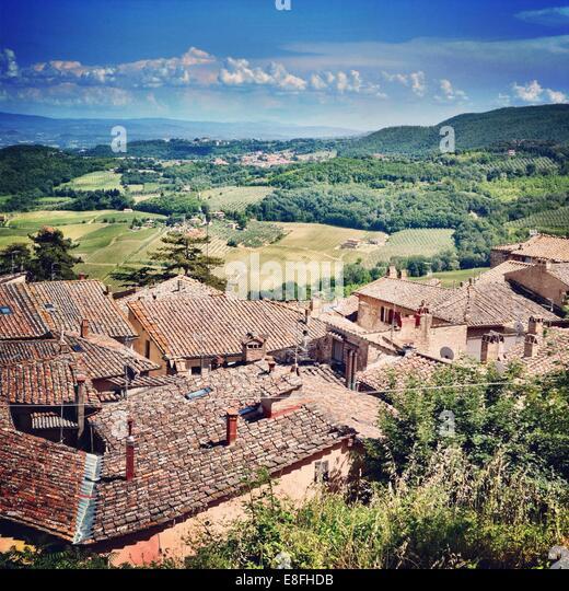 Italy, Tuscany, Countryside - Stock Image