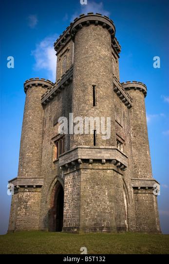 Paxtons Tower Llanarthne Carmarthenshire Wales Stock ... | 346 x 540 jpeg 67kB