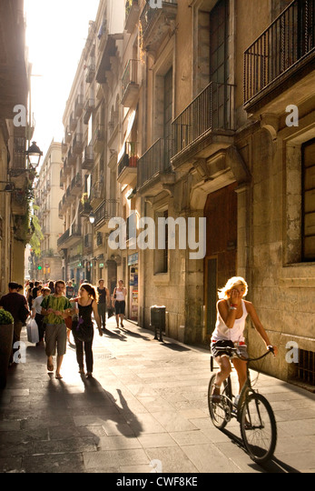 Barcelona, Catalonia, Spain - Stock Image