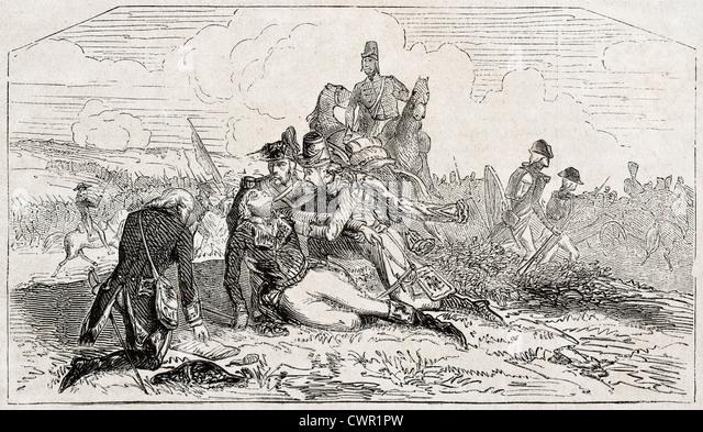 General Desaix death - Stock Image