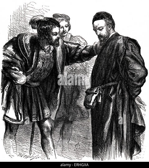 the result of shylocks trial in the merchant of venice by william shakespeare 2018-2-3  in contrast, the merchant of venice by william shakespeare, putatively inspired by the jew of malta,conveys a contemporary anti-semitic theme,while simultaneously challenging prevailing anti-jewish sentiment.