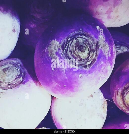 Fresh turnips by K.R. - Stock-Bilder