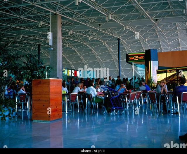 Fuerteventura airport Europe. Photo by Willy Matheisl - Stock Image