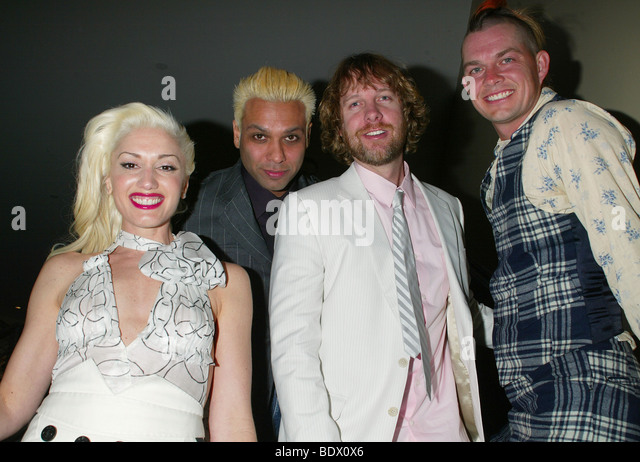 NO DOUBT - US rock group with singer Gwen Stefani - Stock Image