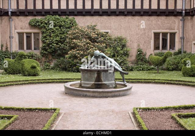 Europe, Germany, Brandenburg, Potsdam, New Garden, Cecilienhof Castle,park - Stock Image