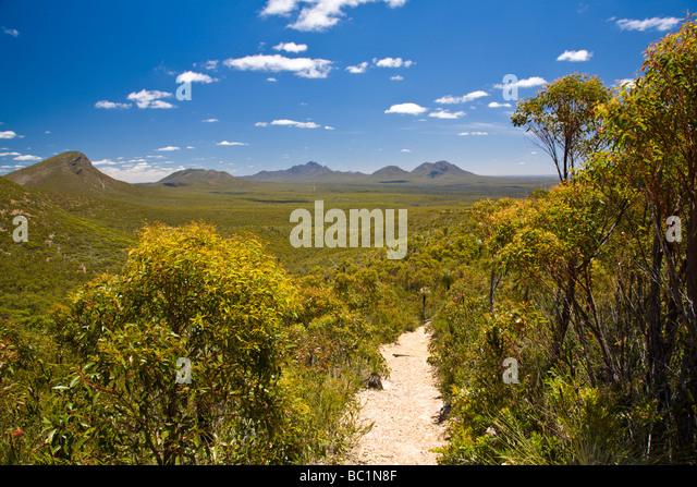Stirling Range National Park WA Western Australia - Stock Image