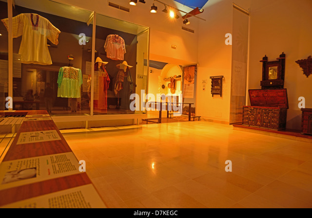 In the Museum of Patrimony and Heritage at Houmt Souk, island of Djerba, Tunisia. - Stock Image