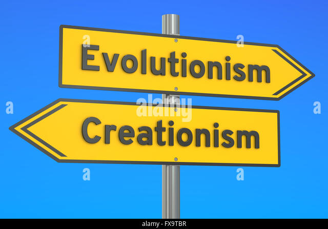 Comparison-Theory of Evolution vs Creationism Theory