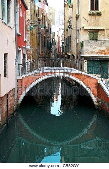 Venice channel - Stock-Bilder