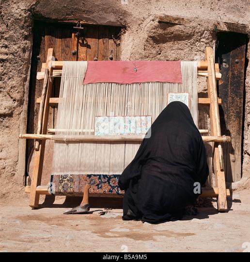 Carpet Weaving Iran Stock Photos Amp Carpet Weaving Iran