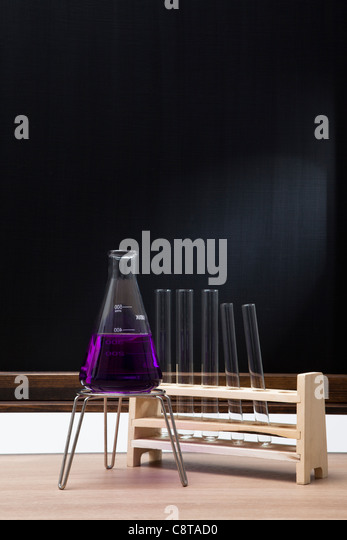 Chemistry Lab And Equipments - Stock Image