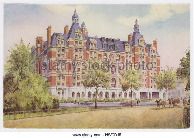 Hyde Park Hotel, London, United Kingdom - Stock Image