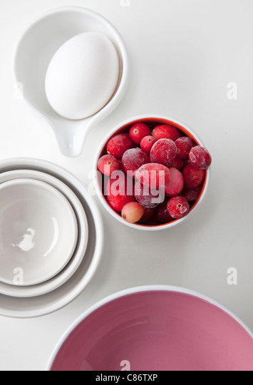 cooking items and foods - Stock Image