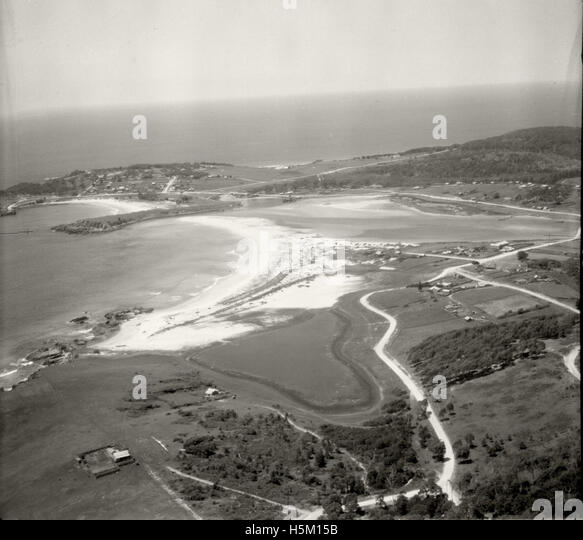 Bermagui looking east - November 1937 - Stock Image