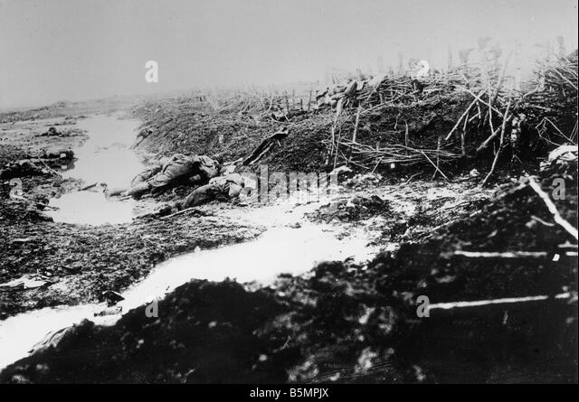 9 1916 3 18 A1 10 E Battle of Postawy 1916 Battlefield World War I Eastern Front Defeat of Russian troops after - Stock-Bilder