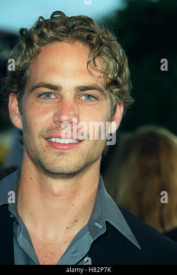 PAUL WALKER 'FAST AND FURIOUS' FILM PREMIERE LOS ANGELES USA 18 June 2001 - Stock Image