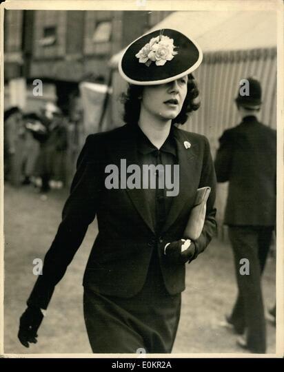 "Jun. 01, 1938 - 1-6-38 French Horse ""Bois Roussel"" - Stock Image"