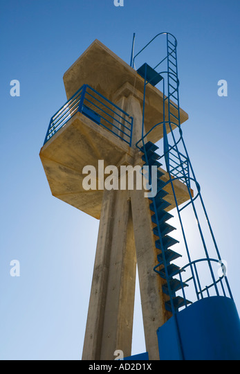 Lifeguard tower - Stock Image