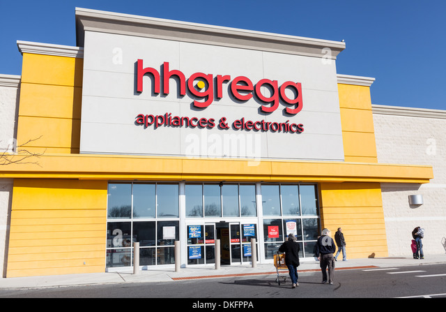 H. H. Gregg appliances and electronics box store, Towson, Maryland, Baltimore County. - Stock Image