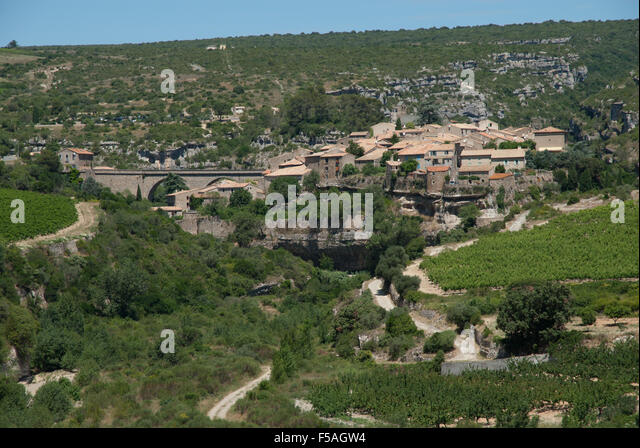 Minerve, France - Stock Image