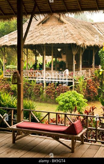 Lisu Lodge in rural Chiang Mai Province, Thailand. - Stock-Bilder