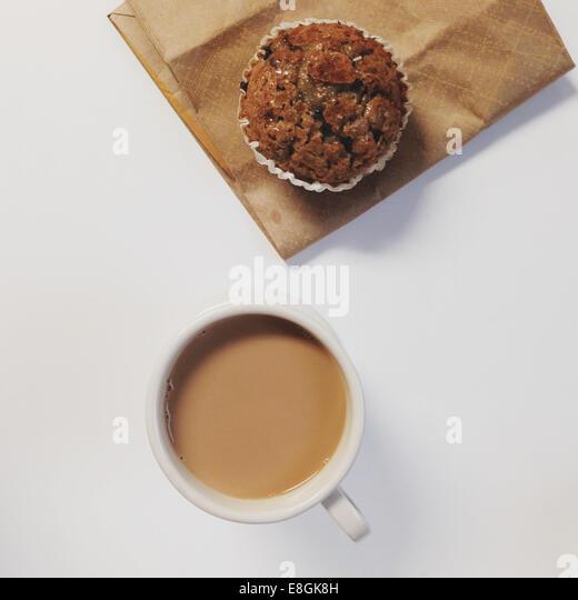 Studio shot of breakfast - Stock-Bilder