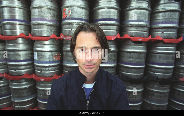 Robert Carlisle the Actor in a Brewery during Edinburgh Film Festival 2002 - Stock-Bilder