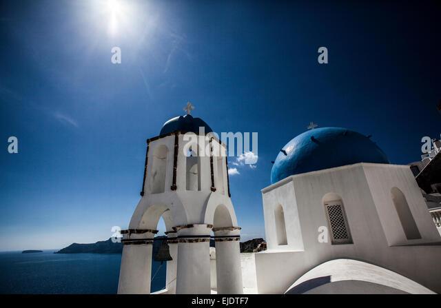 Santorini, Greece - Stock Image