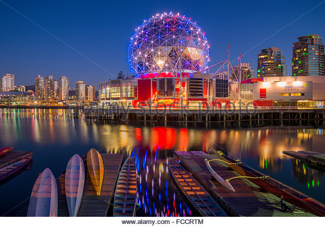 Science World ,Vancouver, BC, Canada - Stock Image