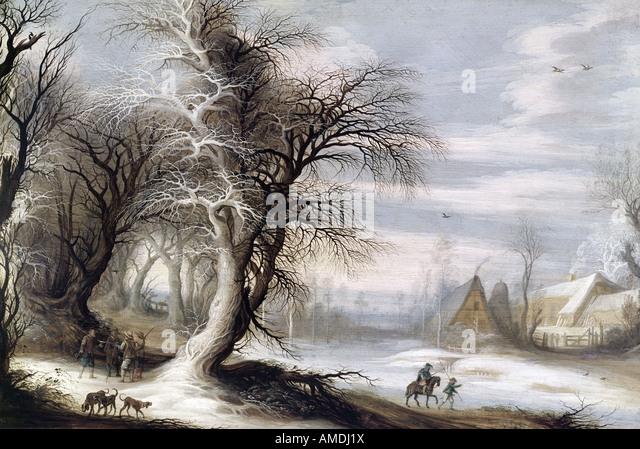 'fine arts, Liebermann, Max, (1847 - 1935), painting, 'Schulgang in Laaren', ('going to school in - Stock Image