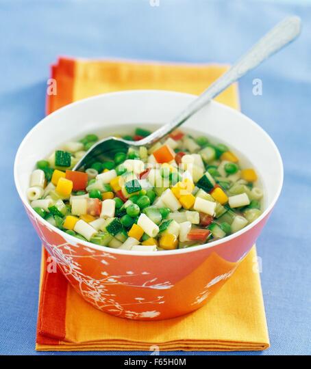 minestrone - Stock Image