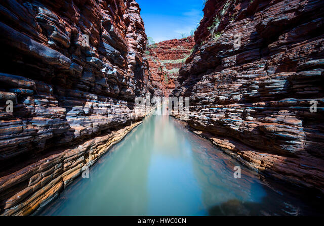 Karijini National Park, The Pilbera, Western Australia - Stock-Bilder