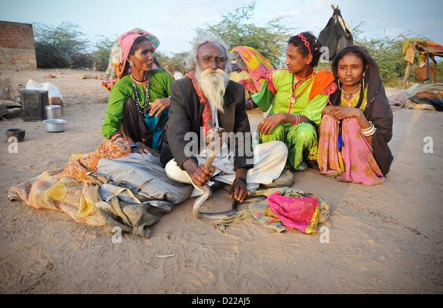Snake Charmer India Stock Photos & Snake Charmer India