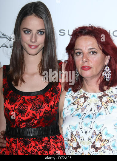 KAYA SCODELARIO & MOTHER EMANUEL AND THE TRUTH ABOUT FISHES. INTERNATIONAL PREMIERE AT THE SUNDANCE LONDON FILM - Stock Image
