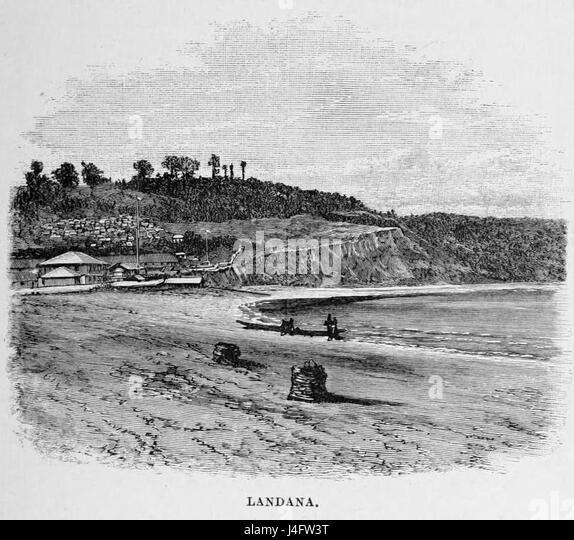 Stanley Founding of Congo Free State 229 Landa - Stock-Bilder