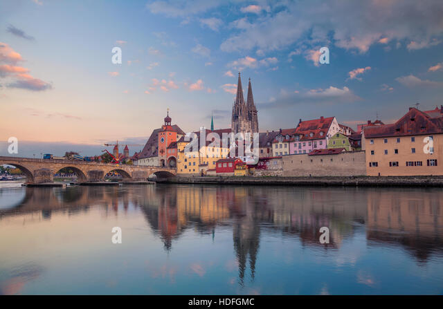Regensburg Germany River Stock Photos  U0026 Regensburg Germany River Stock Images