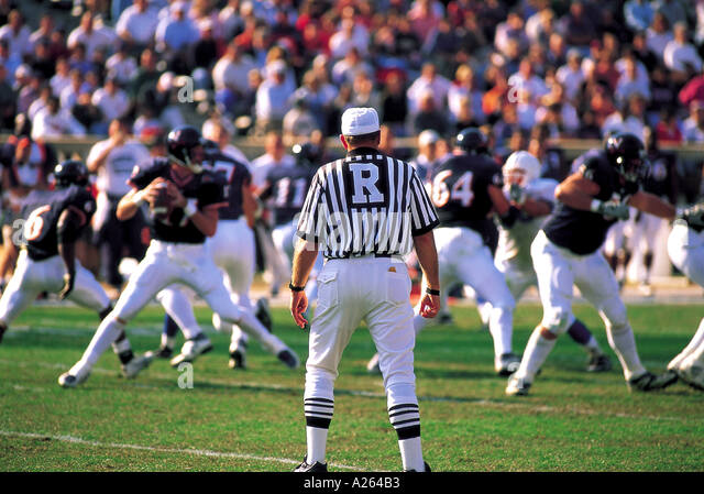 GAME OF AMERICAN FOOTBALL - Stock Image