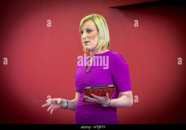 TV personality Steph McGovern Currently appearing with Alex Jones on BBC1 TV. - Stock Image